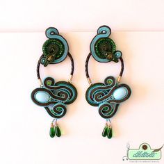 Hey, I found this really awesome Etsy listing at https://www.etsy.com/listing/89130213/unique-extra-long-soutache-earrings-ooak