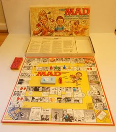 1979 Vintage The Mad Magazine Board Game Parker Brothers Complete. Played this when I babysat for my niece and nephew.