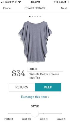 StitchFix 4/5/18...maybe but not in this color. In a pretty jewel tone like purple or green. Or lilac.