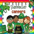 Shamrockin' Center (Literacy and Match Centers for Kinder) – 93 pages  CVC Puzzles (with recording sheets) Write the Room – CVC (with recording she...