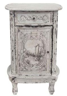 Allissias Attic Design & Vintage French Style — Belle Beautiful Bedside Table