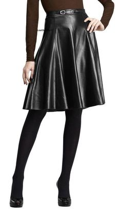 49a4d0ebf2 Women S Skirt Bodycon Stylish Party Wear Lambskin Leather High Waisted Black  1 #Leatherart #