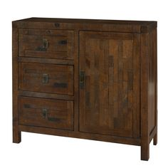 Have to have it. Powell Reclaimed Chest with 1 Door and 3 Drawers $469