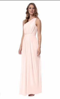 Dove & Dahlia Savannah Bridesmaid Dress | Weddington Way | Blush Champagne | $144