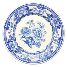 Blue and White China Dinner Plates