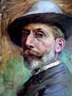 Enrique Mélida Alinari (Spain, 1838-1892) - Self portrait.