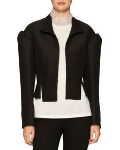 BURBERRY CORSET-INSPIRED MILITARY JACKET. #burberry #cloth #