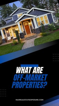 Are you looking to buy a home? Are you having trouble finding one? Have you considered purchasing an off-market property? See what you need to know about off-market properties and how to find one. Real Estate Articles, Real Estate Information, Real Estate Tips, What Is Marketing, Investment Tips, Real Estate Investor, Finding A House, Estate Homes, Home Buying