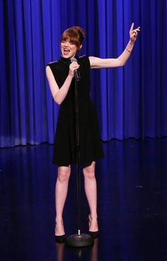 Watch Emma Stone's amazing lip-sync battle with Jimmy Fallon!