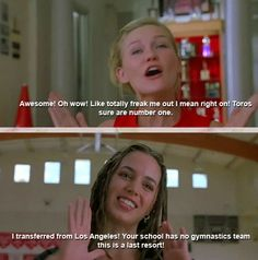 Bring It On quote. Hahaha love it!