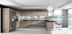 Frameless European-Style Kitchen Cabinets - Google Search