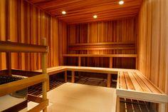 home gym next to sauna - Google Search