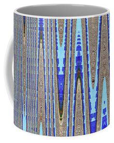 Ripe Cotton Field Abstract Coffee Mug featuring the photograph Ripe Cotton Field Abstract by Tom Janca