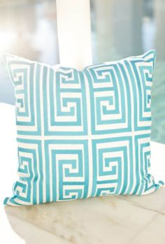 We have some in stock and more coming! We can order any of the great Trina Turk pillows and rugs!! Great prices!!!