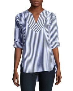 Blouses for women – Lady Dress Designs Kurta Designs, Blouse Designs, Casual Outfits, Fashion Outfits, Womens Fashion, Blouses For Women, Clothes, Long Tops, Sewing