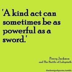 Top 25 Percy jackson Quotes