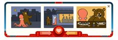Google's V-day Ferris Wheel. This one makes a sushi lover giggle.
