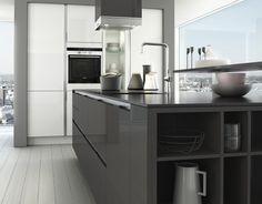 SieMatic keuken: S3 Graphite grijs en lotus wit #keukenstudiomaassluis #keukens