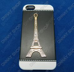 iphone 5 case Effie tower Pearl case white Edge by dnnayding, $14.99