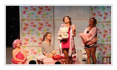 Grease 2014 Sands Theatre Arts School Set Design