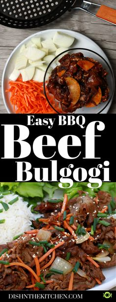 When BBQ Beef Bulgogi meets the heat, magic happens. The thin sliced tender beef sirloin is marinated with a slightly sweet, smoky, and savoury marinade. Within 15 minutes, dinner is ready! #KoreanBBQ #Bulgogi #Beef Bulgogi #BBQ #grilling #barbecue