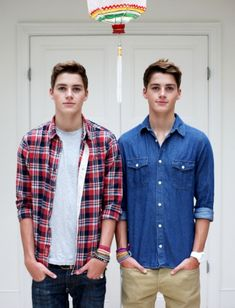 Jack and Finn. They're cute. They're British. And they're laughs are adorable.