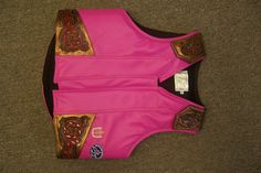 Custom Ladies Rodeo Vest by Beastmaster Rodeo  http://www.beastmasterrodeo.com/categories/Shop-by-Category/Protective-Gear/