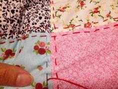 Acompanhe o passo a passo de como fazer uma almofada de patchwork aproveitando retalhos de tecidos que você tem em casa.
