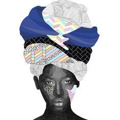 Miss Noho - art print