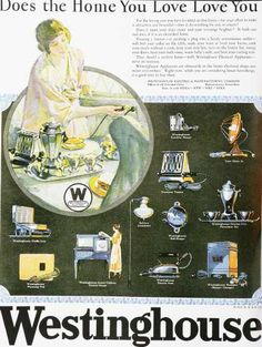 Vintage Household Ads of the