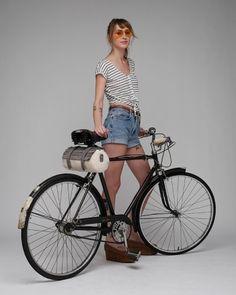 Moto Bike Bag Canvas