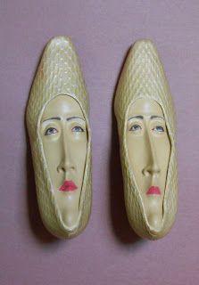 Gwen Murphy shoe sculptures