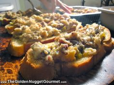 The Golden Nugget Gourmet: Our family recipe for Oyster Stuffing #Thanksgiving