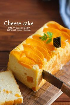桃缶チーズケーキ Easy Sweets, Homemade Sweets, Sweets Recipes, Baking Recipes, Cake Recipes, Asian Desserts, Fun Desserts, Japanese Cake, Cafe Food