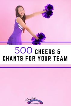 Need some new cheers and chants for your cheer squad? We already know you do. Freshen up your cheers this season with the help of the Cheerleader Handbook! We've got the cheer tips you have searching for all in one convenient virtual space! Did we mention that we literally have 500 cheers you can check out right now?! Cheerleading Moves, Cheerleading Cheers, Cheer Coaches, Basketball Cheers, Basketball Teams, Cheer Dance Routines, Cheers And Chants, Cheer Tips, Stunts