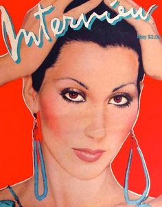 item details: Entire Issuekeywords: CherInterview is an American magazine which has the nickname The Crystal Ball Of Pop. It was founded in late 1969 by artist Andy Warhol. The magazine features intim Divas, Cher Bono, I Got You Babe, The Frankenstein, Music Magazines, Vintage Magazines, Music Covers, Book Covers, Cultura Pop