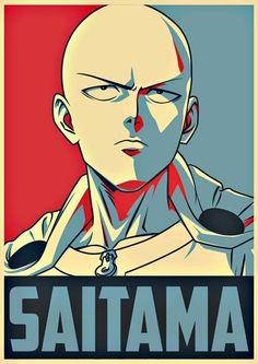 One Punch Man Memes, One Punch Man Episodes, Anime One Punch Man, One Punch Man Poster, One Punch Man Funny, Anime Naruto, Otaku Anime, Manga Anime, Saitama One Punch Man