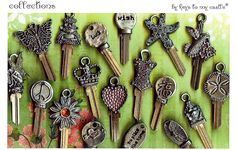 little of this and a little of that... couture keys ® original keys to my castle ® my key inspirations ®