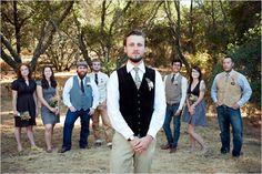 Groom style, country wedding ideas