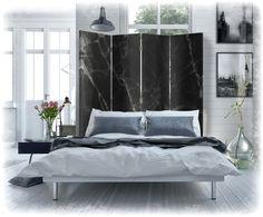 parawan ozdobny do podzielenia nowoczesnej sypialni