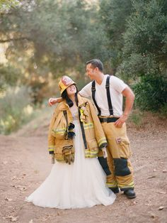 one of my favorite things about being married to a firefighter is his GEAR. <3