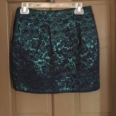 Skirt Green and black skirt Forever 21 Skirts