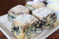 Famous Blueberry Scones | Warm, flaky, tender and moist, thi… | Flickr
