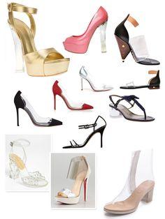 Spring 2013 Trend - Transparency.  El ultimo grito de la moda para el año 2013 es TODO ..........TRANSPARENTE