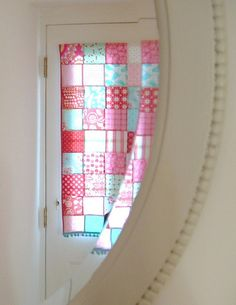 hall blind by LITTLE KITTEN HOMEMADE, via Flickr