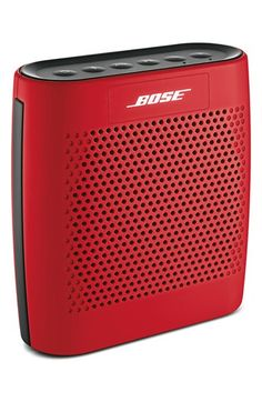 Bose Soundlink Speaker in gorgeous colors. Nice price, too, at Nordstrom.