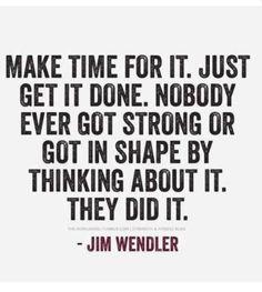 No Excuses :)
