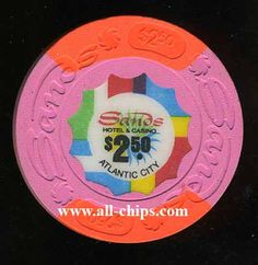 Atlantic City Casino Chip of the Day is a $2.50 Sands 1st issue in Uncirculated condition you can get here http://www.all-chips.com/ChipDetail.php?ChipID=5797
