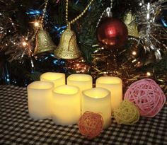 Battery Operated Candles - 6 Unscented Small Flameless Candles, 70+ Hours of Lighting (For Each Individual Candle), 6 Extra Batteries Included, LED Candles, Flameless Candle Set, Votive Candles, Decorations, Wedding Favors, Souvenirs, Centerpieces, Wedding Decor Festival Delights http://www.amazon.com/dp/B00GLM6VG8/ref=cm_sw_r_pi_dp_CIsJtb1SG0VDM6JP