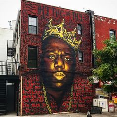 Biggie Smalls Mural in Bed Stuy May Come Down | Brownstoner